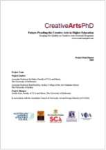 Creative Arts Phd